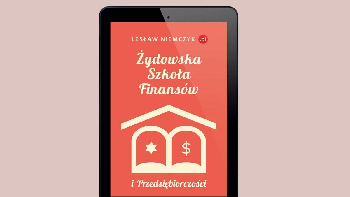 EBOOK (ePub): Żydowska szkoła finansów i przedsiębiorczości